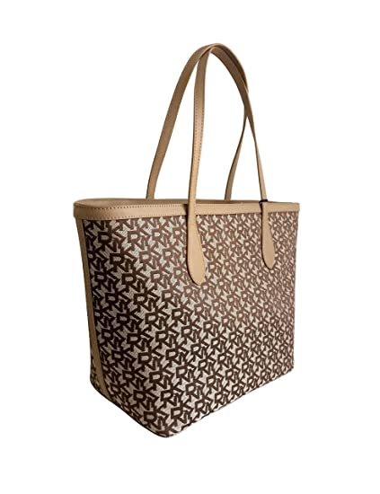 02c853639 DKNY Signature Canvas Shoulder Tote Bag: Amazon.co.uk: Luggage