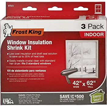 Frost King V73 3h Shrink Window Kit Weatherproofing