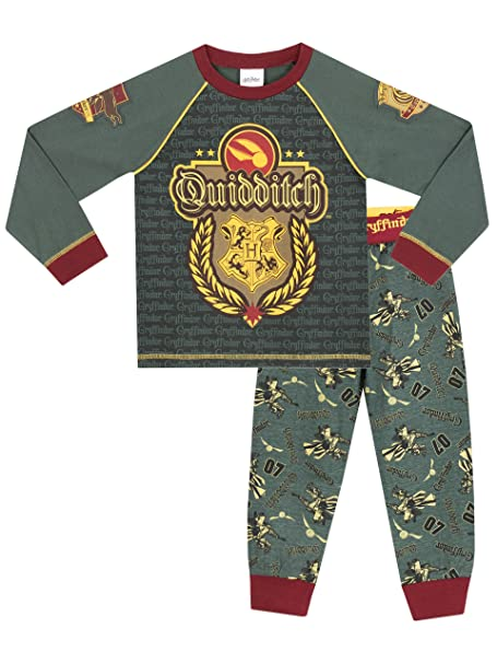 Harry Potter - Pijama para Niños - Harry Potter Quidditch - 4 - 5 Años