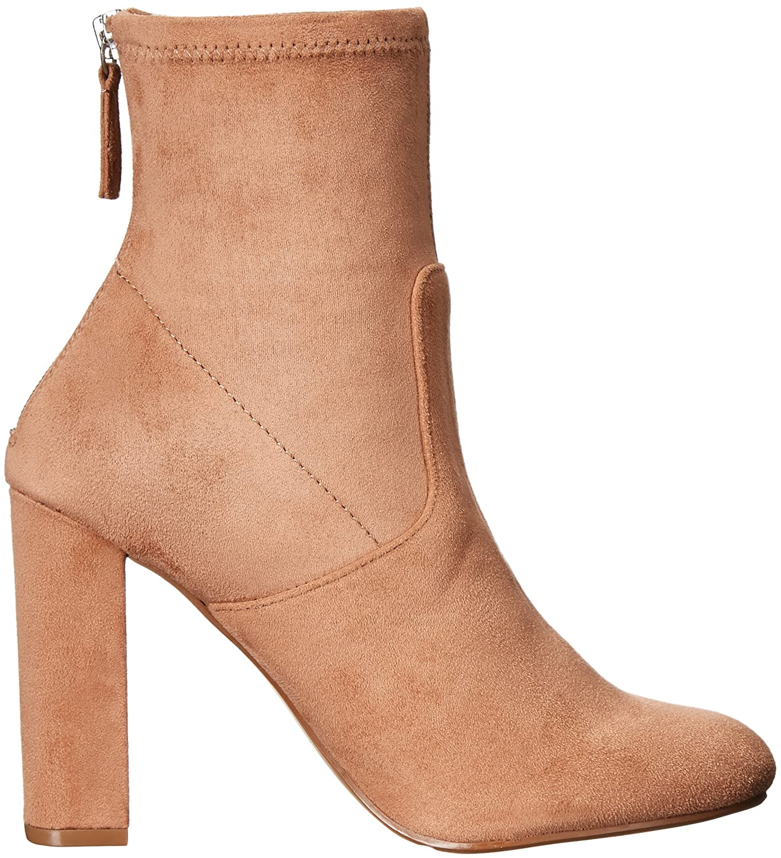 Steve Madden Women's Brisk Ankle Bootie B01L06HX2U 7.5 B(M) US|Camel
