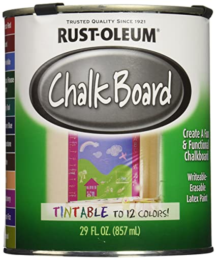 Super Rust-Oleum Corporation 243783 Specialty Chalkboard Tint Base, 29  CL74