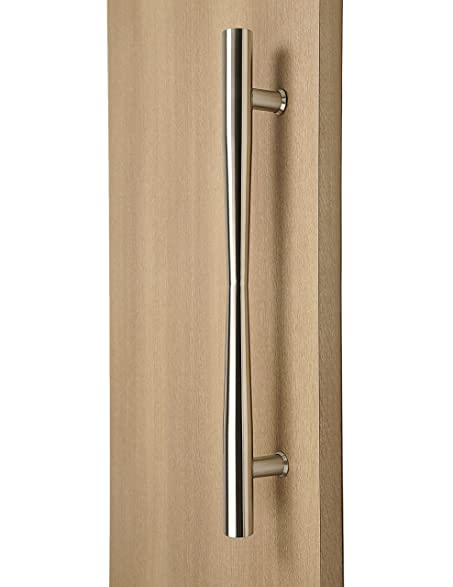 Modern and Contemporary Long Door Handle Pull / Hour Glass Style ...