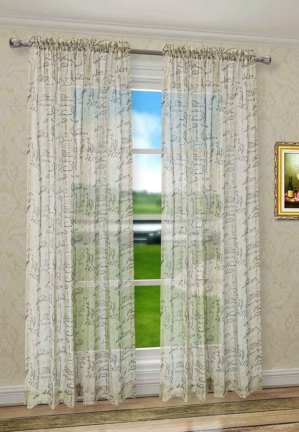 curtains floral home insulated pin curtain print window sale thermal drape linen faux top design grommet mysky panels