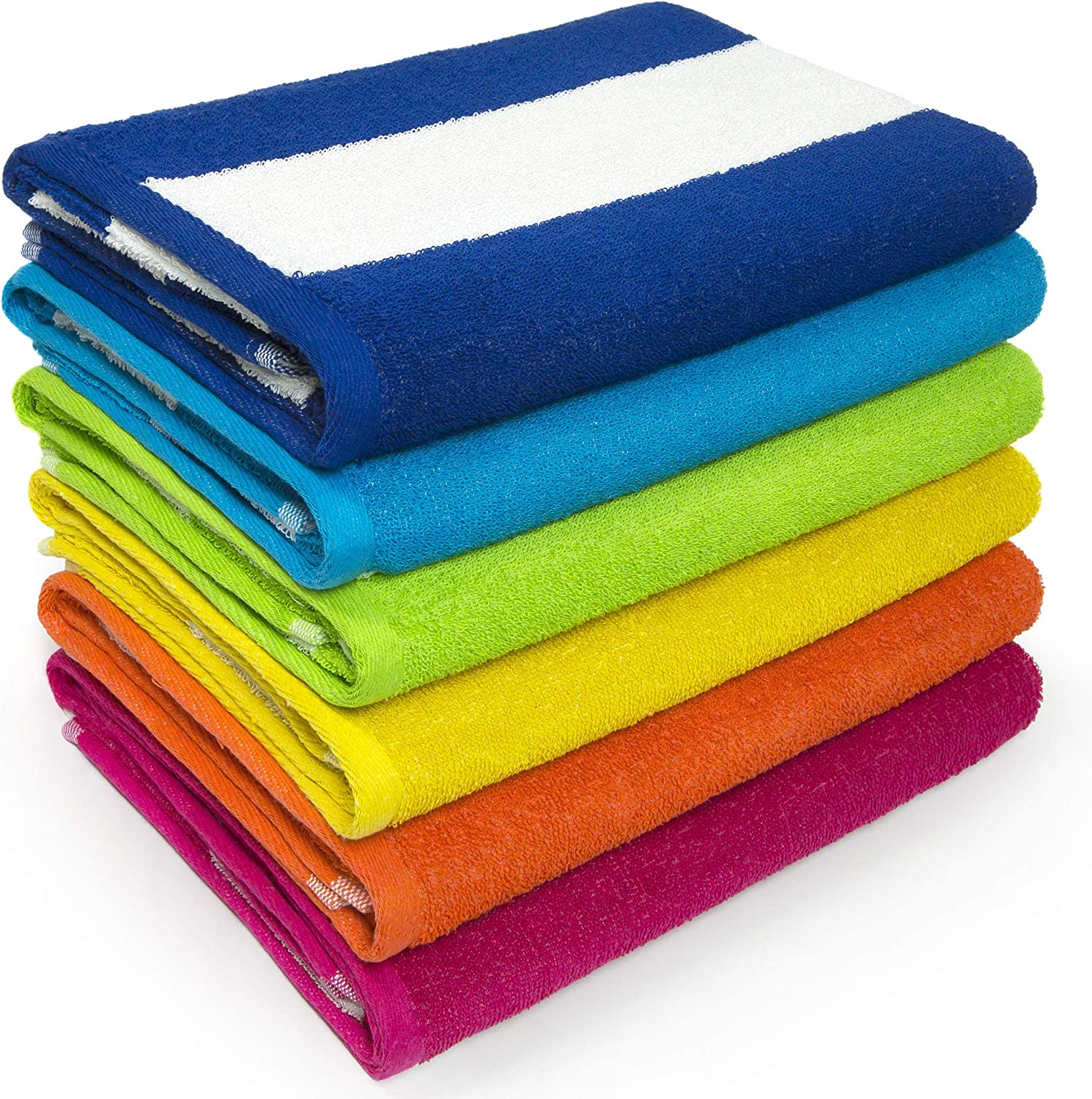 Beach and Pool Towel Soft and Absorbent Terry Loop