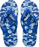 Showaflops Mens' Antimicrobial Shower & Water Sandals for Pool, Beach, Dorm
