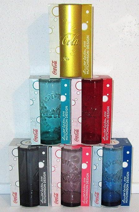 Coca-Cola 2016 Set de 6 copas de cristal de edición limitada: Amazon.es: Hogar