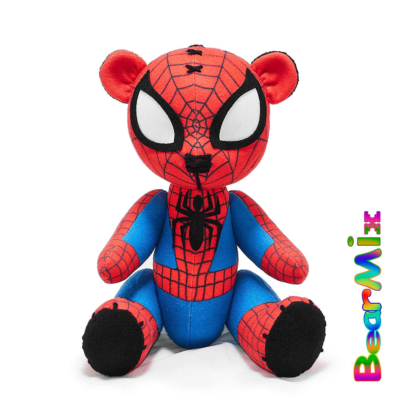 marvel superhero movie comic plush toy avengers ultimate classic Peter Parker Spider-Man bear