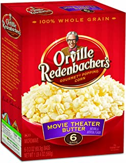 product image for Orville Redenbacher's Gourmet Microwavable Popcorn, Movie Theater Butter, 6-Count Boxes (Pack of 6)