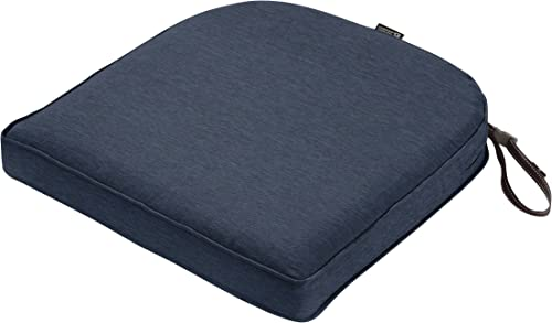 Editors' Choice: Classic Accessories Montlake Water-Resistant 18 x 18 x 2 Inch Contoured Patio Dining Seat Cushion
