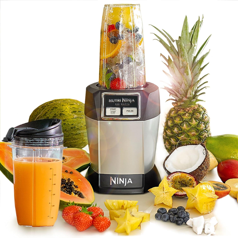 Ninja Nutri Pro Complete Personal Blender 900W - BL470UK - Silver NutriNinja