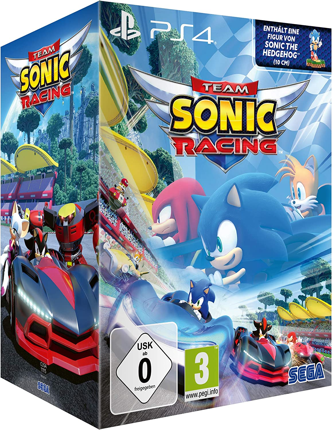 Team Sonic Racing: Special Edition (PS4) [Importacion Alemania]: Amazon.es: Videojuegos