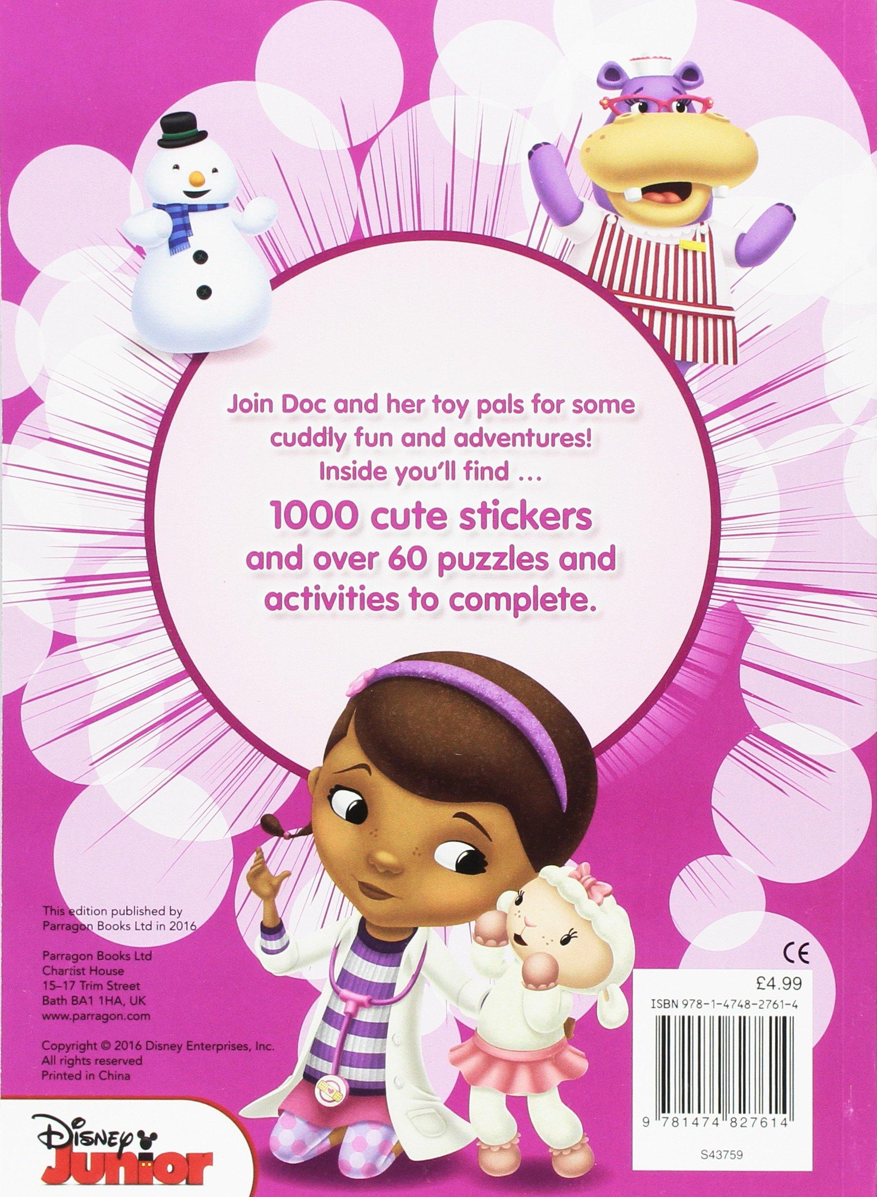 Disney Junior Doc McStuffins 1000 Stickers: Amazon.de: Parragon ...