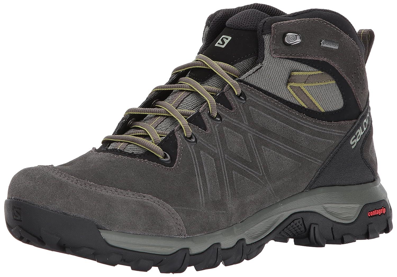TALLA 40 2/3 EU. Salomon Evasion 2 Mid LTR GTX, Zapatillas de Running para Asfalto para Hombre