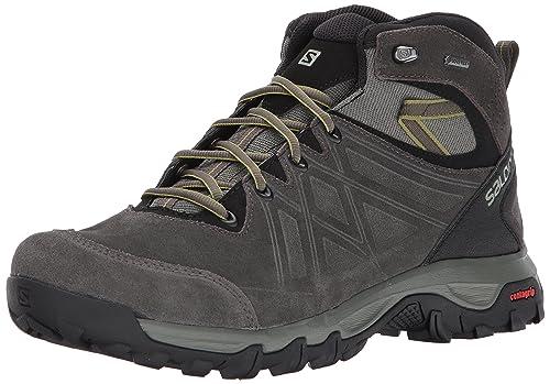 Salomon Evasion 2 Mid LTR GTX, Zapatillas de Running para Asfalto para Hombre: Amazon.es: Zapatos y complementos