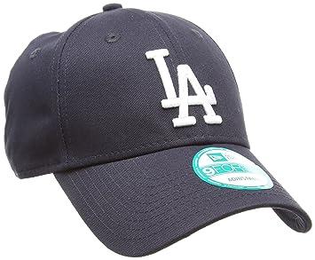 667a63a35b5 New Era Men s Team Check 9 Forty League Dodgers Baseball Cap - Navy White