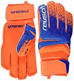 Reusch Prisma SG Extra Goalkeeper Gloves Size 9.5 Shocking Orange/Blue