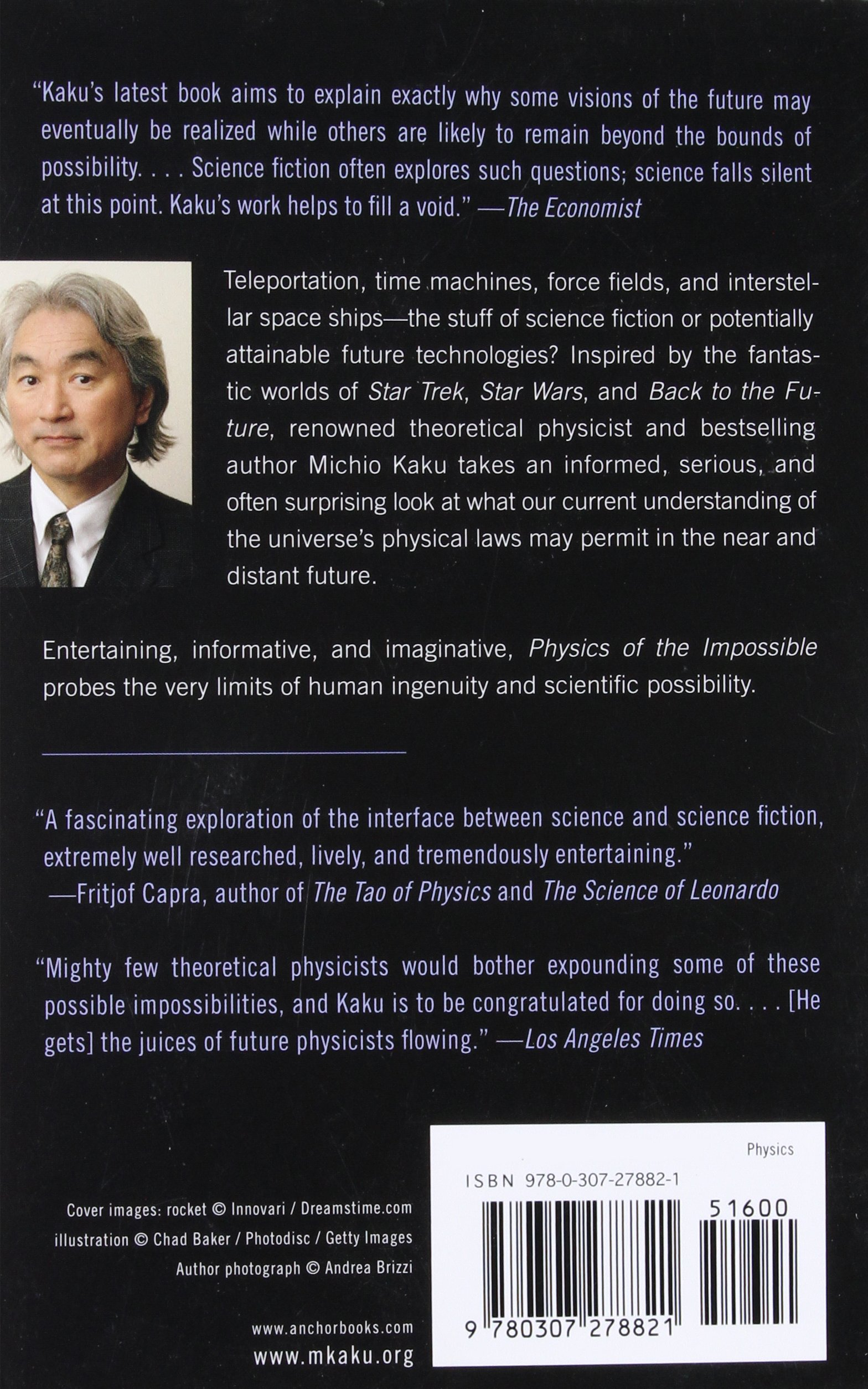 Buy Physics of the Impossible: A Scientific Exploration into the World of  Phasers, Force Fields, Teleportation, and Time Travel Book Online at Low  Prices in ...