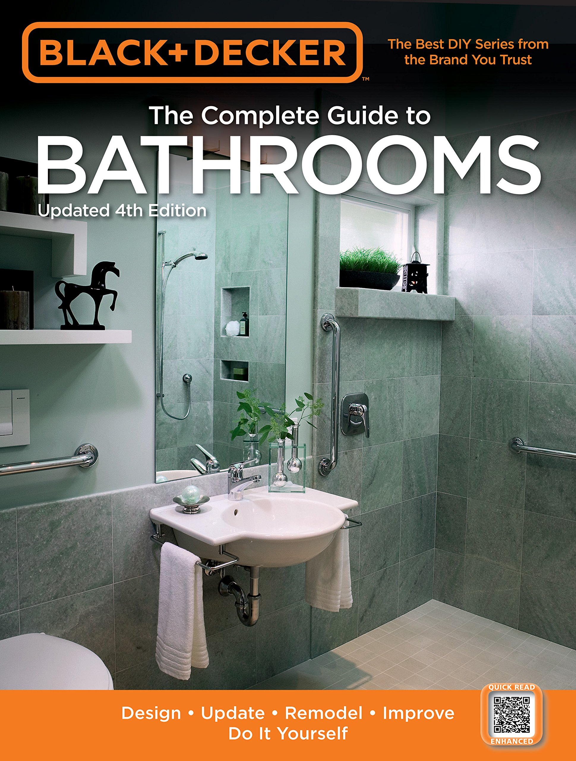 Black & Decker The Complete Guide to Bathrooms, Updated 4th Edition ...