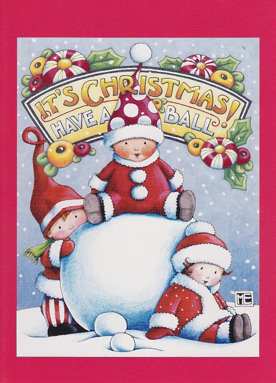Amazon.com: Mary Engelbreit Christmas Note Cards \