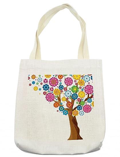 Ambesonne - Bolsa Floral, con diseño de Flores, con pétalos ...