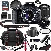 Canon EOS 2000D (Rebel T7) DSLR Camera Bundle + 18-55mm Lens | Built-in Wi-Fi|24.1 MP CMOS Sensor |DIGIC 4+ Image…