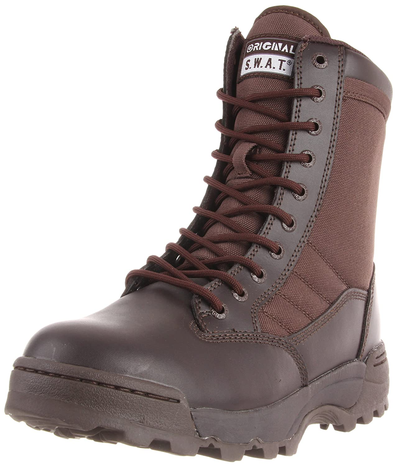 Men's Classic 9-Inch Tactical Military Style Combat Boot - DeluxeAdultCostumes.com