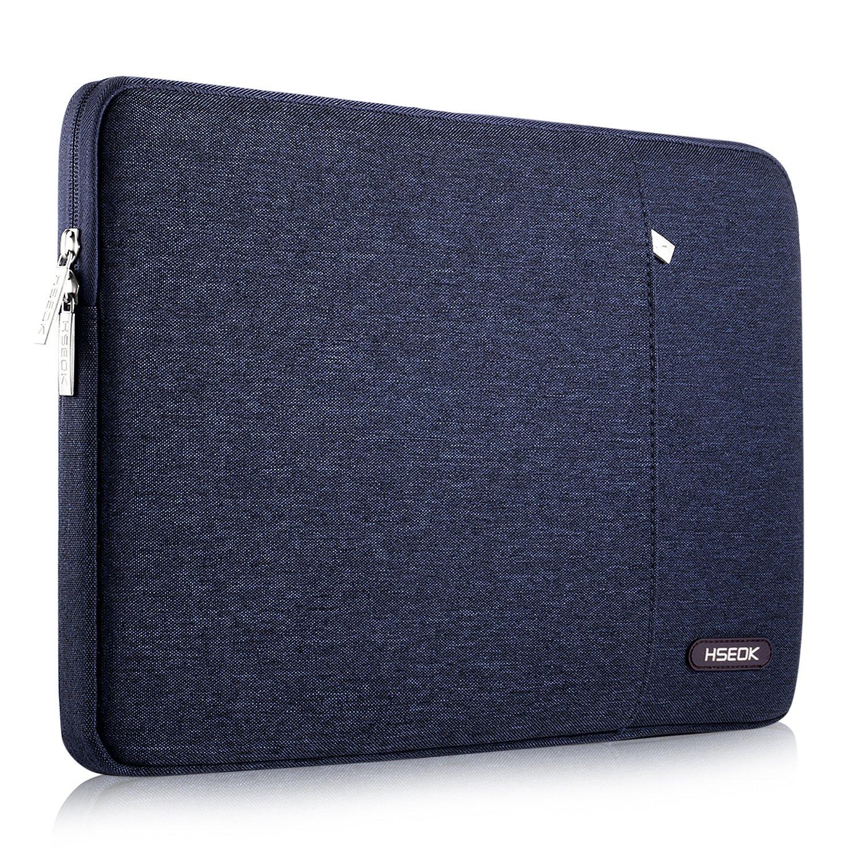 HSEOK 13-13,3 Pulgadas MacBook Air Funda Protectora para Ordenadores Portátiles PC Bolsa para la Mayoría de Las Laptop de 13-14 Pulgadas Surface Book Apple ...