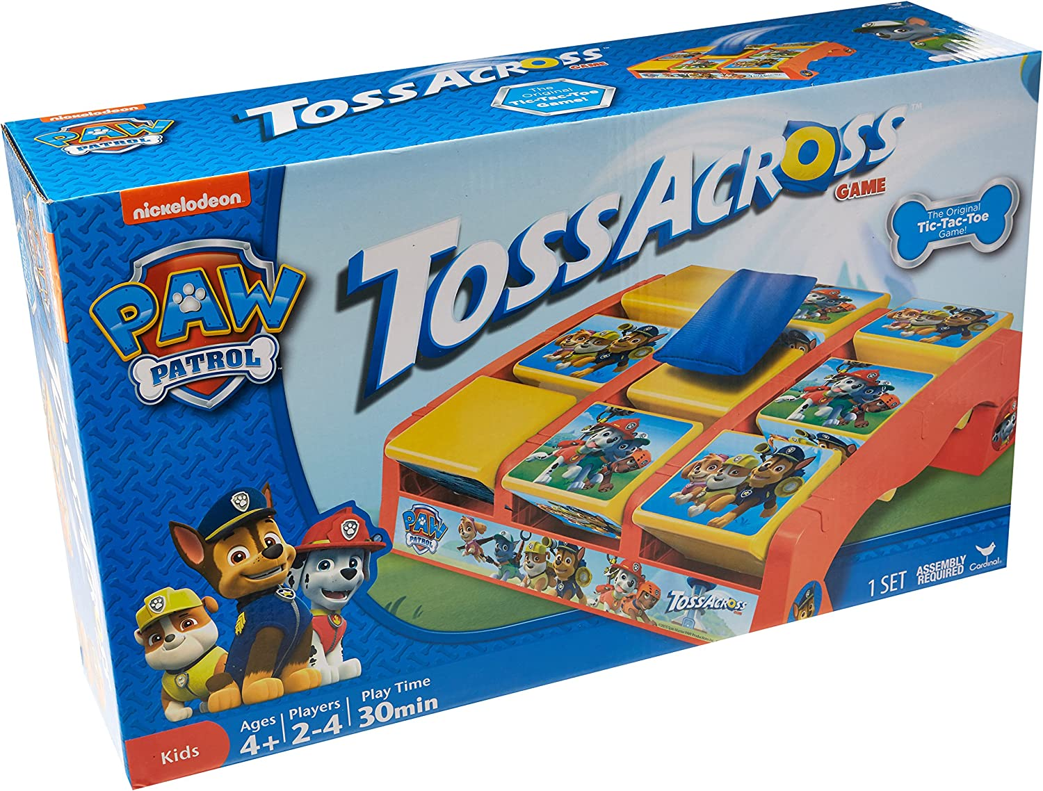 Paw Patrol Tic Tac Toss Game for Indoor /& Outdoor Play!