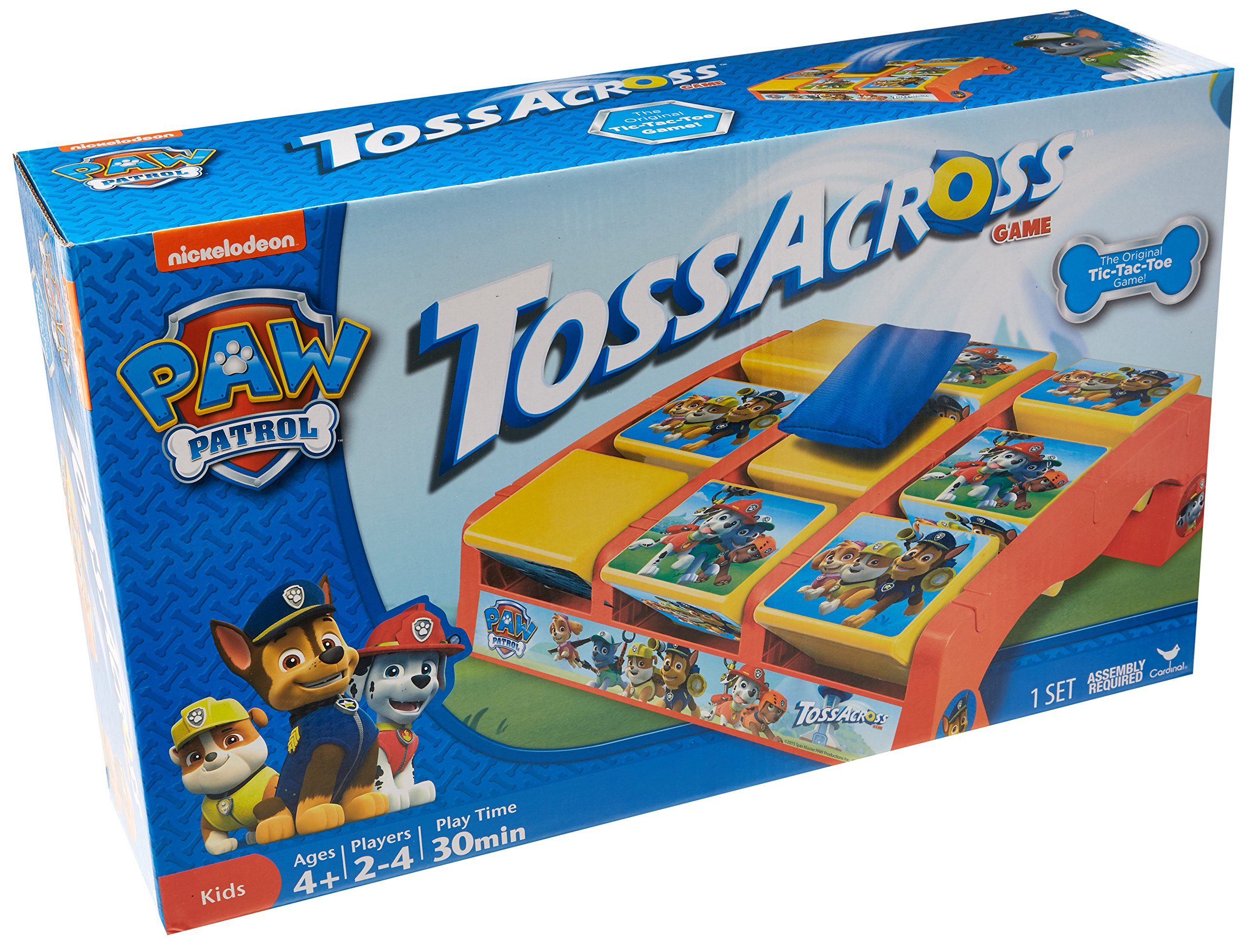 PAW Patrol Toss Across Game