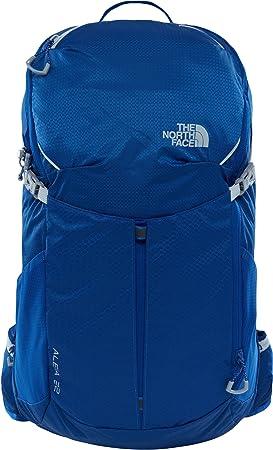 The North Face Aleia 22 Mochila Nylon Azul - Mochila para portátiles y netbooks (Nylon, Azul, Monótono, Mujeres, Bolsillo Frontal, Bolsillo Lateral, ...