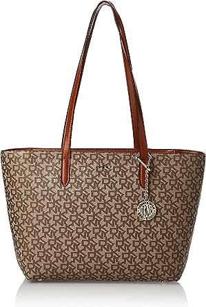 DKNY Bryant Coated Logo Medium Tote Bag