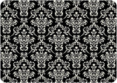 Bungalow Flooring Premium Comfort Floor Mat, 22 by 31-Inch, Falcon Crest, Black Linen