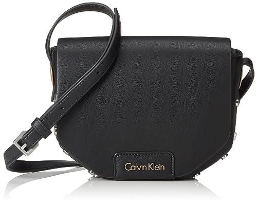 c09115f49cd Calvin Klein Jeans K60K602136 - Bolso Bandolera de Piel sintética Mujer