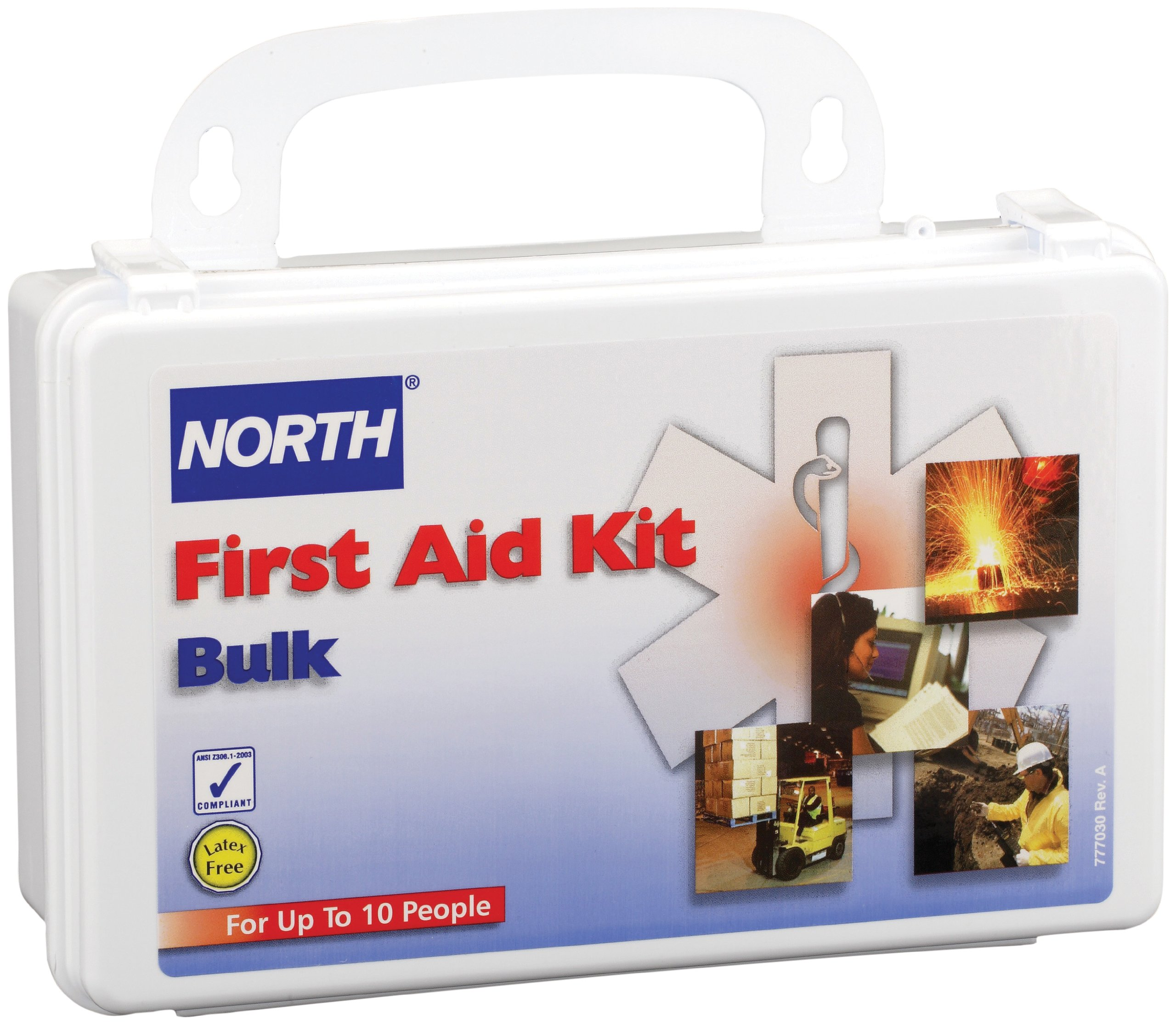 North by Honeywell 019700-0001L 10 person Kit, Bulk, Plastic