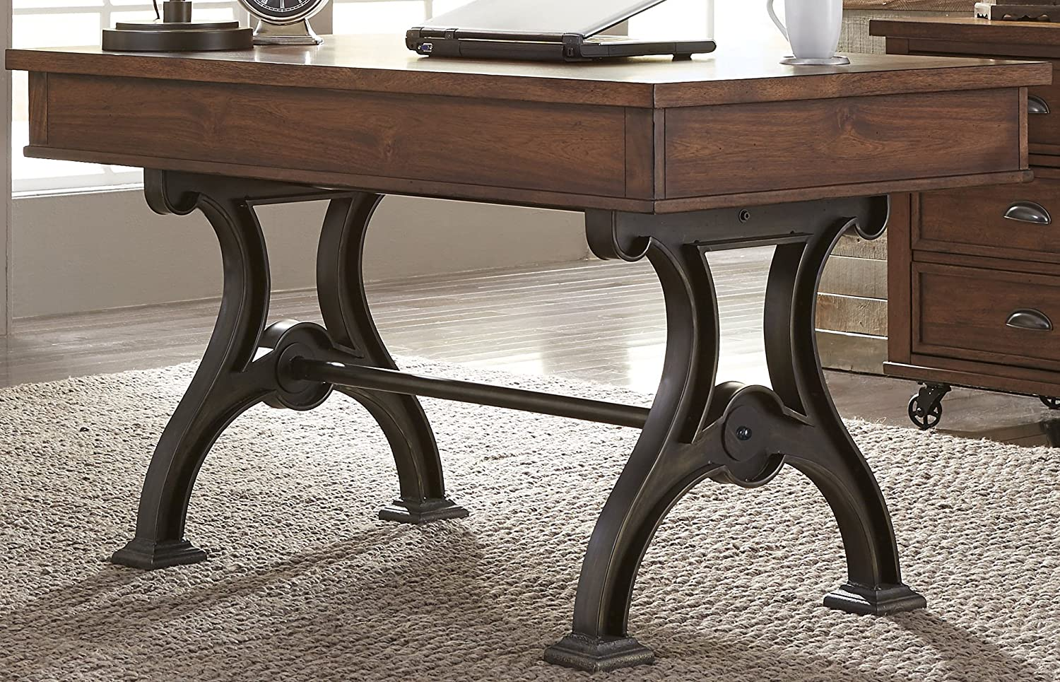 home office writing desk. Amazon.com: Liberty Furniture 411-HO107 Arlington House Home Office Writing Desk, 56\ Desk