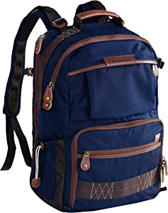 Vanguard Havana 48 Backpack (Blue) for Sony, Nikon, Canon, Fujifilm Mirrorless, Compact System Camera (CSC), DSLR, Travel