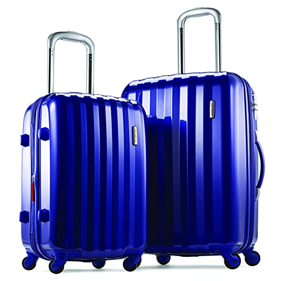 "Samsonite Prism Two-Piece Hardside Spinner Set (20""/24""), Blue"