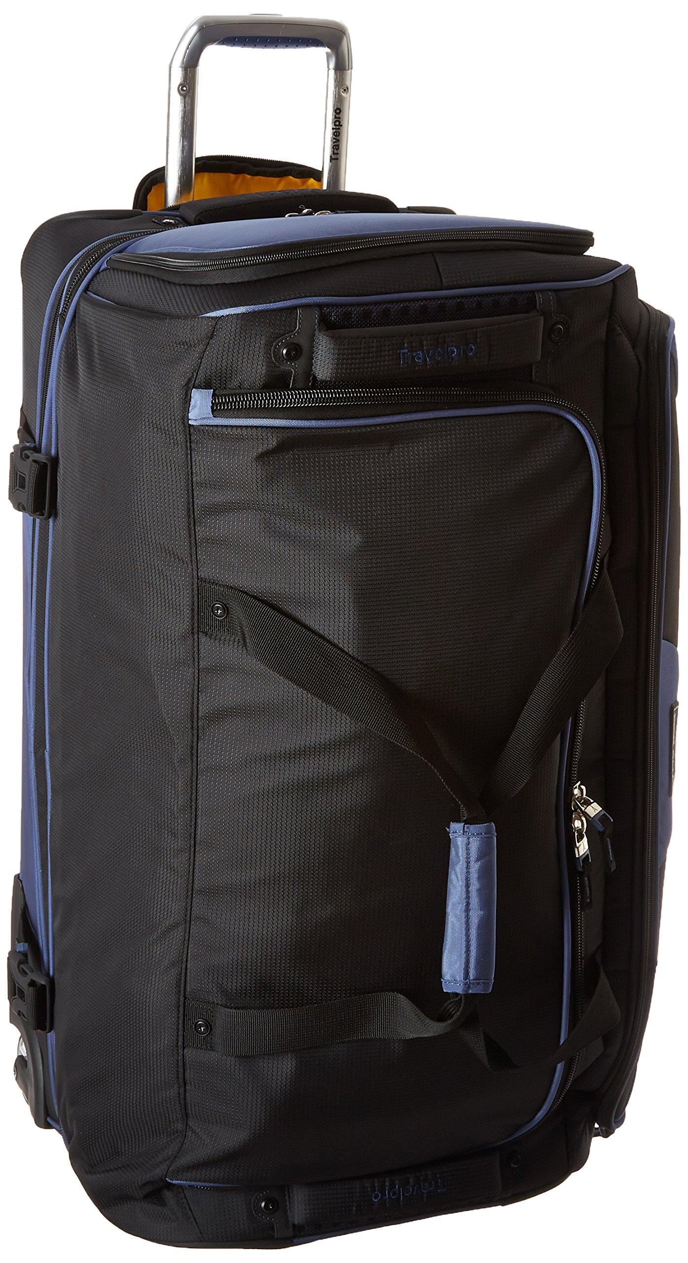 Travelpro Tpro Bold 2.0 30 Inch Drop Bottom Rolling Duffel, Black/Navy, One Size