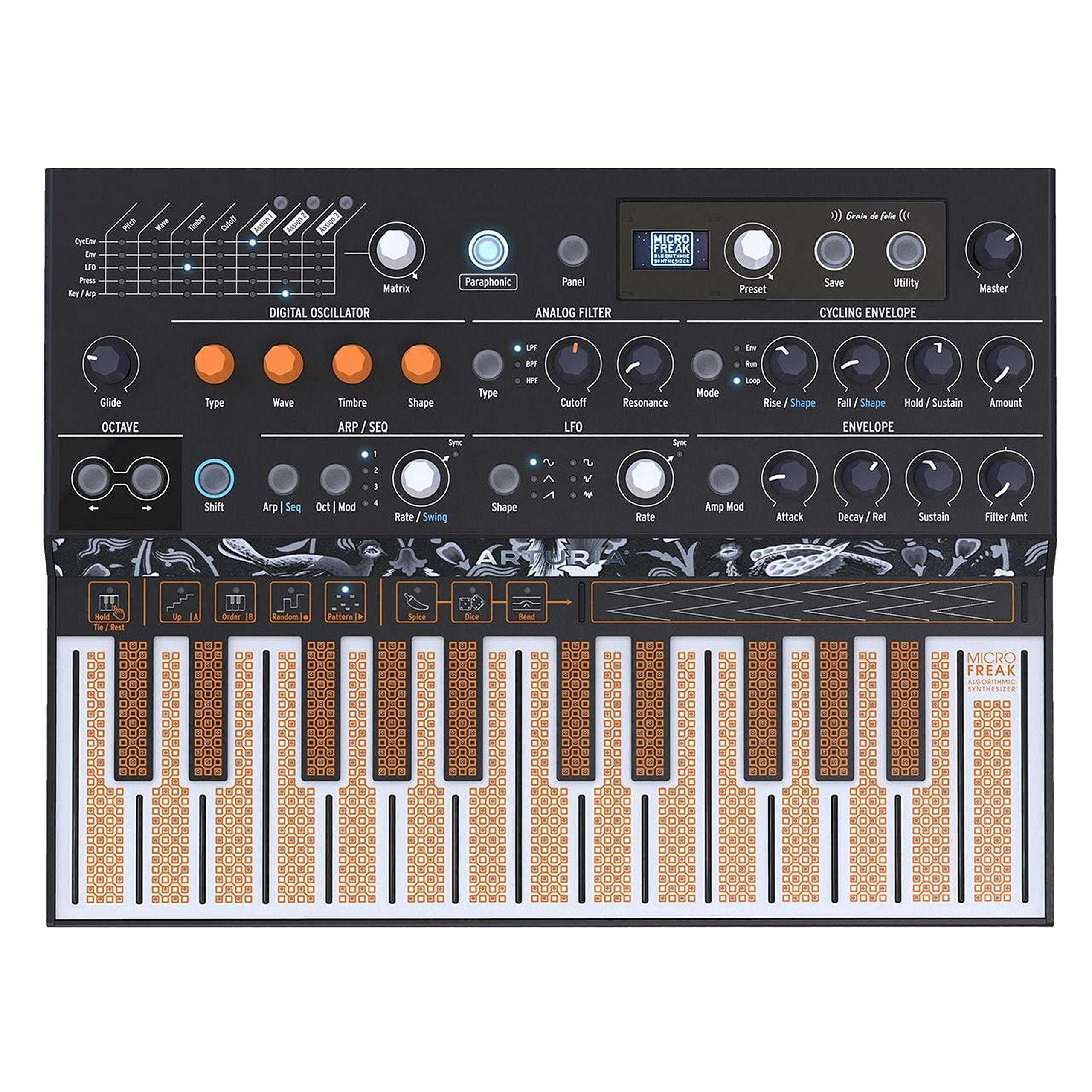 Arturia MicroFreak Hybrid Synthesizer by Arturia