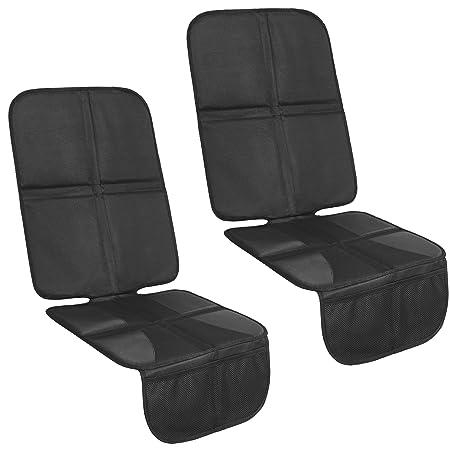 2 X Kindersitzunterlage Mit 10mm Polster Isofix Geeignete Autositzauflage Auto Sitzschoner Baby