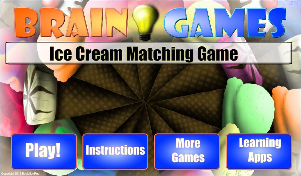 Ice Cream- Matching Game: Amazon.es: Appstore para Android