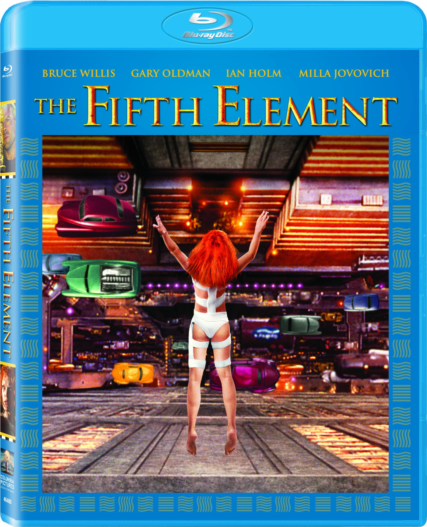 Blu-ray : The Fifth Element (Ultraviolet Digital Copy, 4K Mastering, Widescreen, Dolby, AC-3)