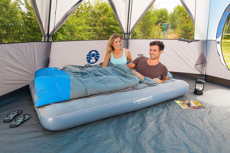 Outdoor und Indoor nutzbar warmer extralanger Herbst//Winterschlafsack Coleman Schlafsack Basalt Single XXL Deckenschlafsack Camping
