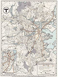 Amazon.com: Historic Map | ca. 1921 Map of City of St. Louis and ...