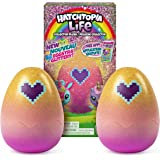 """Hatchimals Hatchtopia Life 2 Pack, 2"""" Tall Plush with Interactive Game, For Ages 5 & Up (Styles May Vary)"""