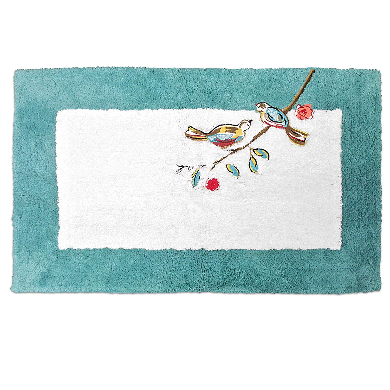 Lenox Simply Fine Chirp Fingertip Towel, Multi-Color Bardwil Linens 047596255001