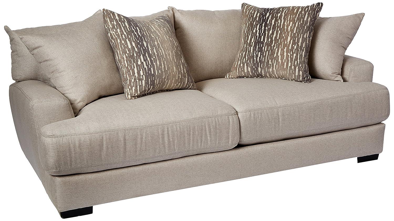 Modish Amazon.com: Franklin Furniture Classic Oslo Sofa, Large, Linen AE-64