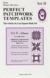 Marti Michell Perfect Patchwork Template-Storm At Sea 2//Pkg 8065M