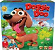 Goliath New & Improved Doggie Doo - Squeeze The Leash Poop The Food Game, Brown