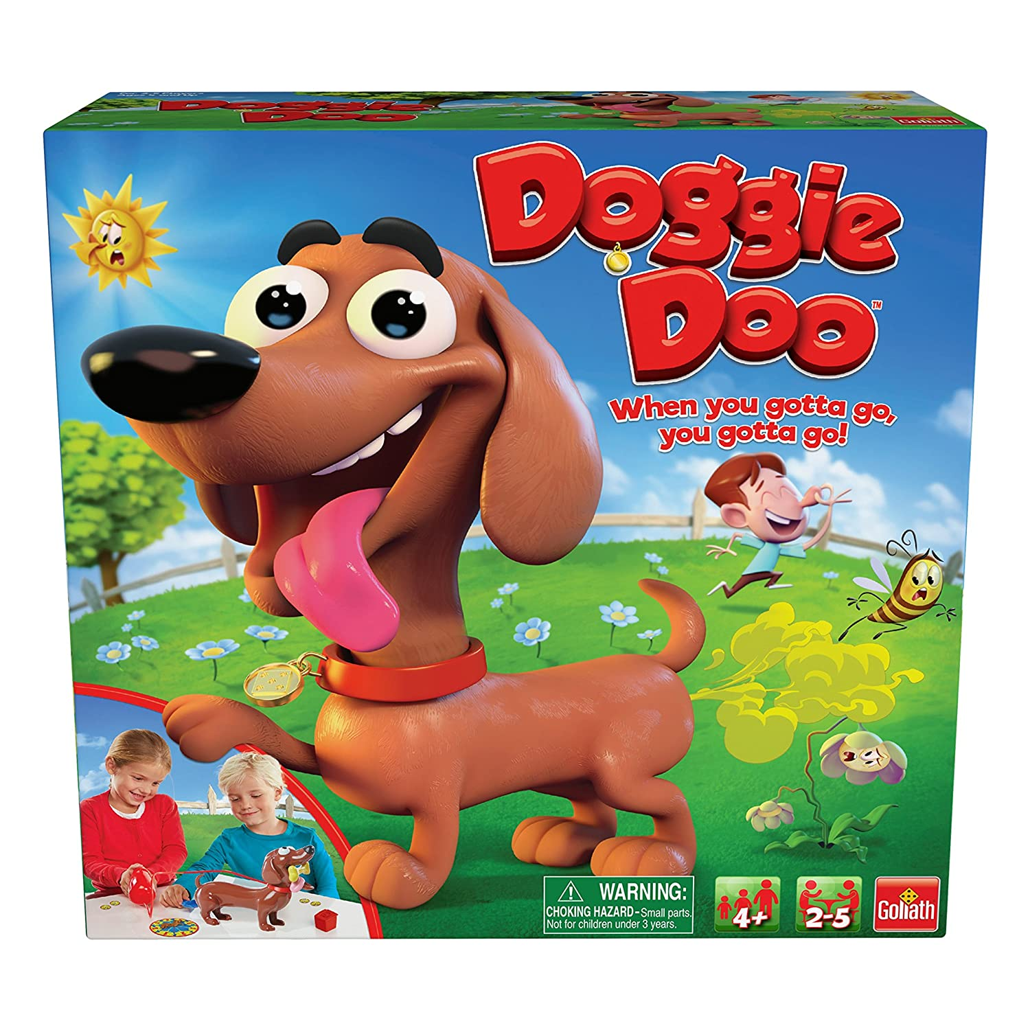 Goliath Games 30683 Goliath New and Improved Doggie Doo Game, Brown